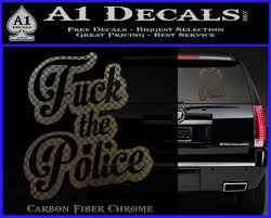 Fuck The Police Decal Sticker Dst A1 Decals