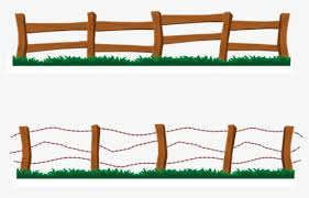 Clip Art Black And White Fence Farm Clipart Clip Art Wooden Fence Free Transparent Clipart Clipartkey