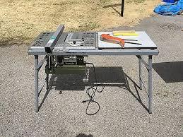 Vintage Makita 2708 Portable Table Saw W Blades Rip Fence Miter Gauge Etc 560 00 Picclick