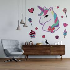 Removable Jojo Siwa Signature Unicorn Dream Wall Decal Vinyl Home Art Horse Decor Famous Young Youtuber Actress Singer And Dancer Decoration 16 X 20 Girls Kids Bedroom Removable Sticker Walmart Com