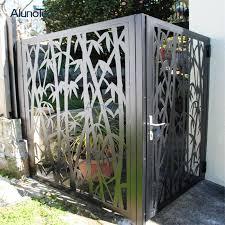 outdoor decorative aluminum metal cast