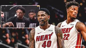 Heat news: Jimmy Butler reacts to Udonis Haslem's speech during Game 2