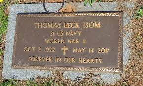 Thomas Leck Isom (1922-2017) - Find A Grave Memorial