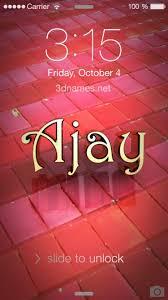 ajay name wallpaper wall