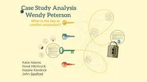 Case Study Analysis by Katie Adams