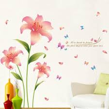 Large Cherry Blossom Flower Butterfly Tree Wall Stickers Art Decal Home Decor Color Pink Buy At A Low Prices On Joom E Commerce Platform