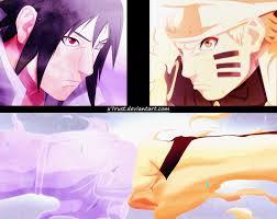 Naruto 695 Clash of Naruto and Sasuke by X7Rust