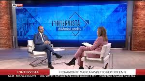 Sky TG24 - Seguite in diretta #LIntervista di Maria...