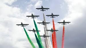 Frecce tricolore domattina nel cielo di Firenze - Lady Radio