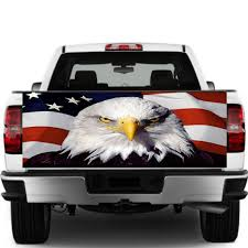 Car Rear Window Graphic Decal Sticker Truck Suv Van American Flag Eagle Label 2019 Car Decals Stickers Car Styling Accessories Car Stickers Aliexpress