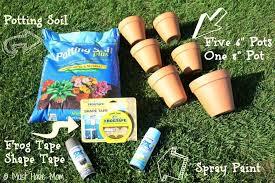diy topsy turvy flower planter with