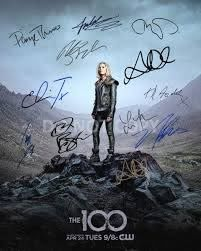 The 100 CW tv show cast reprint signed 11x14 show poster by 11#2 Taylor  Debman RP at Amazon's Entertainment Collectibles Store