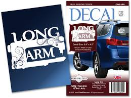 Long Arm Vinyl Decal For Car Or Home Fiberflies Gifts