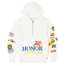 Honor Decal Hoodie Off White Alumni Of Ny