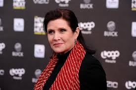 Carrie Fisher's body measurements, height, weight, age.
