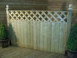 Elite Oak Precedent Fence Panel 6ft X 5ft 1828mm X 1524mm Fence Panels Fence Paneling