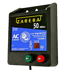 Zareba 50 Mile Ac Powered Electric Fence Charger Eac50m Z Zarebasystems Com