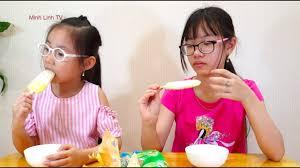 Minh Linh TV: Búp Bê Barbie và Trò Chơi Bán Kem Của Hai Chị Em ...