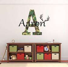 Custom Name Girls Boys Wall Decal Monogram Personalized Name Wall Decal Sticker Art Name Vinyl Wall Decal Name And Initial Decal Nursery Room Wall Decor Baby Name Decal Handmade 8vdf823nz