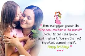 happy birthday wishes for mom love