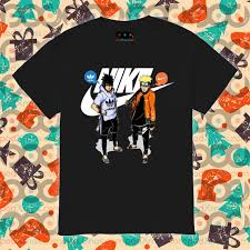 Naruto Nike and Sasuke Adidas shirt • Podxmas
