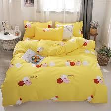 home textile heart bedding set 3 quilt