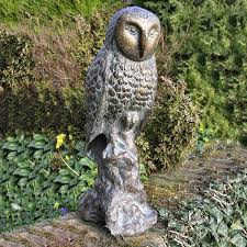 owl garden statue ornament garden