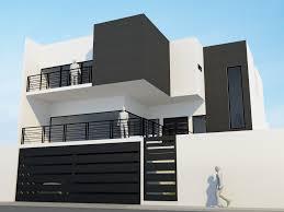 Modern House Gate Color The Base Wallpaper