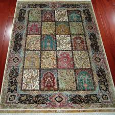 handmade persian 100 silk rugs carpets
