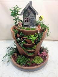 custom miniature fairy gardens the
