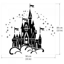 Disney Castle Vinyl Wall Art Decal