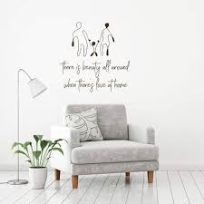 Large Family Quote Wall Decals Vinyl Decor Wall Decal Customvinyldecor Com