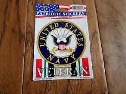 U S Navy Veteran Oif Iraqi Freedom Window Decal Sticker U S A Made Ebay