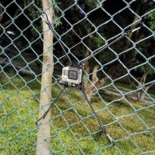 Amazon Com Action Camera Chain Link Fence Mount For Gopro Action Cameras Ideal Backstop Camera Mount For Recording Baseball Softball And Tennis Games