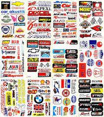 Amazon Com Motorsport Cars Nhra Drag Racing Lot 12 Vinyl Decals Stickers D1202 Arts Crafts Sewing