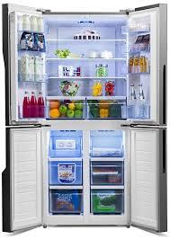 hisense 512l french door fridge