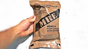 testing us military mre meal ready to