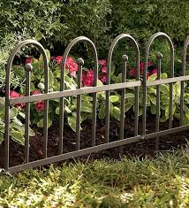 Iron Fence Edging Collection Accessories Metal Garden Edging Iron Fence Fence Landscaping