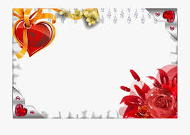 love photo frame png transpa