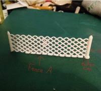Fence 3d Models To Print Yeggi