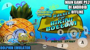 cara bermain game spongebob squarepants