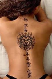 Flower Spine Flower Back Tattoos For Girls Best Tattoo Ideas