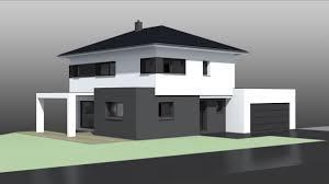 maison 4 pans avec garage accolé