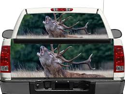 Product Deer Nature Rear Window Or Tailgate Decal Sticker Pick Up Truck Suv Car Rear Window Decals Rear Window Tailgate