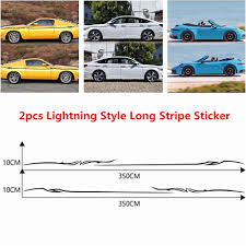 Thunder Strike Car Decal Sticker Decor Vinyl Waterproof Uv Protected Other Car Truck Decals Stickers Auto Parts And Vehicles Tamerindsa Com Ar