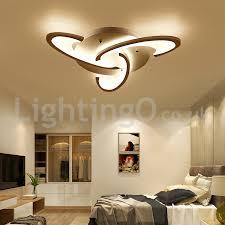 3 bulbs modern flush mount ceiling