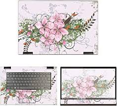 Amazon Com Decalrus Protective Decal Floral Skin Sticker For Lenovo Yoga 730 15 15 6 Screen Case Cover Wrap Leyoga730 15 183 Electronics