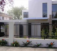 Modern Fence Designs Metal Acnn Decor