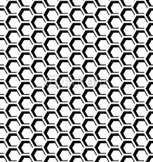 Seamless Honeycomb Pattern Sticker Wall Decals Wallsheaven Troyka