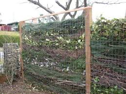 Composting Fence I Ve Seen One W A Decorative Pergola Like Top That You Might See In A Chinese Garden Garden Compost Garden Shrubs Garden Projects